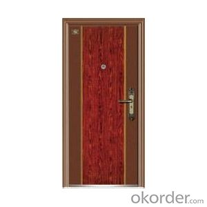 Metal Steel Security Door for Safety Decoration Use
