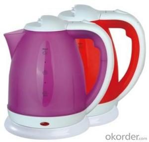 1.8 Litre Food-grade enviromental plastic PP Steel Electric Kettle
