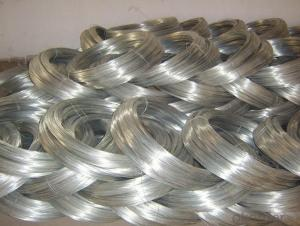 Hot zinc coated wire ;Electric Galvanized Iron wire for binding