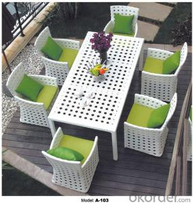 Outdoor Hand Rattan Coffee chair & table suite A-103