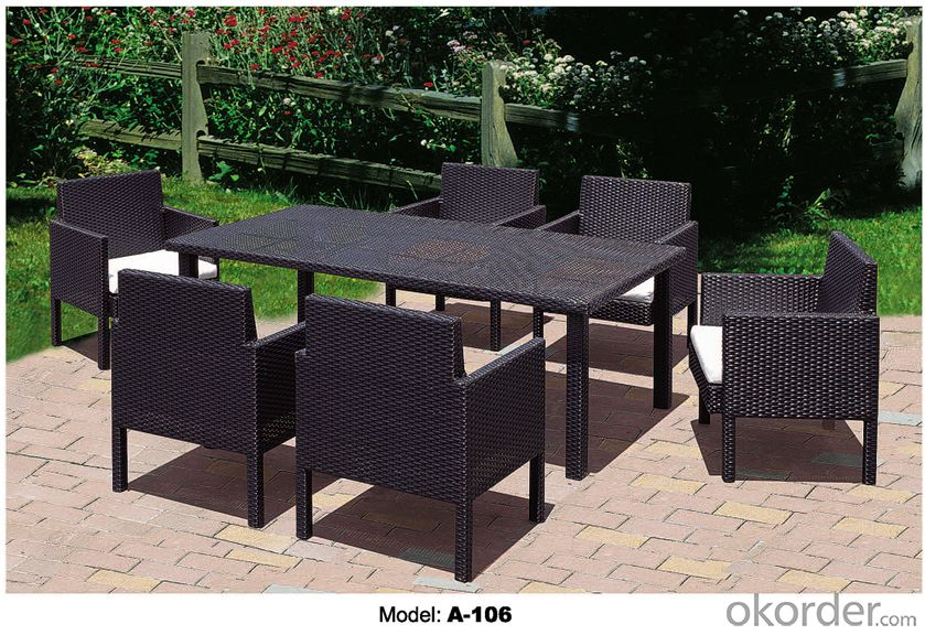 Outdoor furniture Hand Rattan Garden Sets A-106