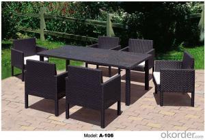 Outdoor furniture Hand Rattan Garden Sets A-106