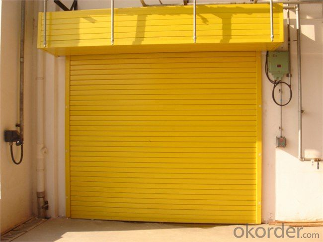 Steel Sectional Garage Door of Hot Sale with Good Quality