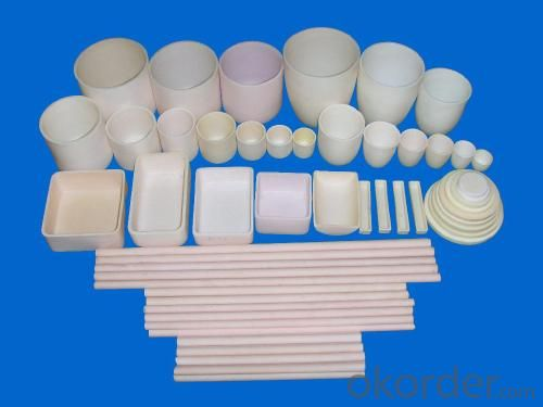 Protech High Chemical corrosion resistant high pure alumina crucible with high temperature