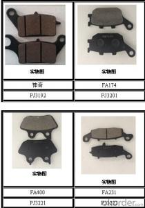 Brake Pads for TOYOTA D1212   auto parts OEM