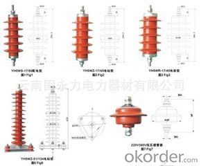 Y10WF100/260S AC non-clearane gas insulated metal oxide surge arrester