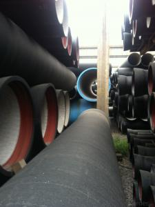 DUCTILE IRON PIPE AND PIPE FITTINGS K7 CLASS DN400