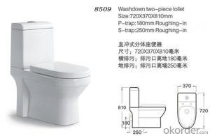 Two piece toilet wc toilet,ceramic toilet cheap sale-8509