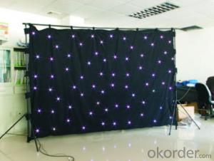 YT-1117/H (3 IN 1 ) R.G.B  LED STAR CURTAIN