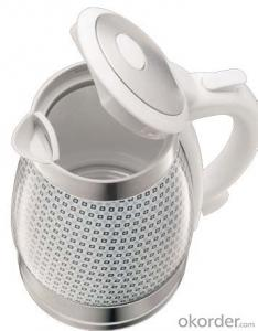 1.7 Litre Ceramic Electric Kettle with Boil-dry and overheat protection