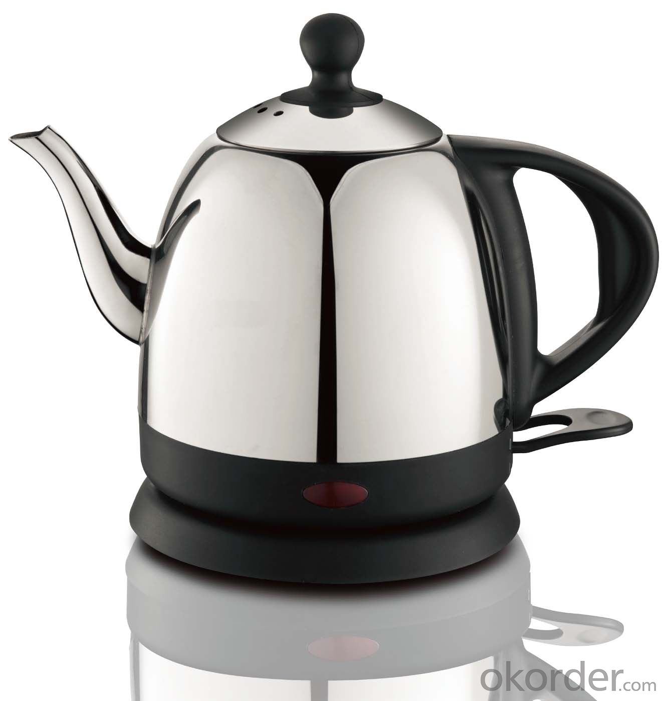 0.8  Litre Stainless Steel Electric Kettle with Transparent water window
