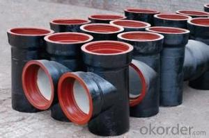 DUCTILE IRON PIPE AND PIPE FITTINGS K9 CLASS DN100