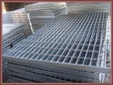 A255/40/100 Aluminum Bar Grating For Deck Access Stair Tread