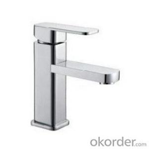 Fashionable basin faucet with single handle- 401