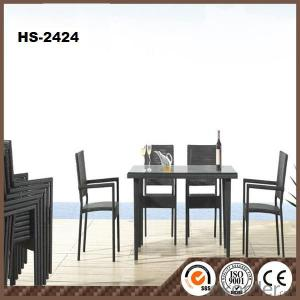 PE Rattan Furniture Garden Sets for Outdoor Furniture HS-2424