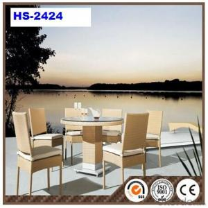 Outdoor PVC Rattan Furniture Garden Chair HS-2424