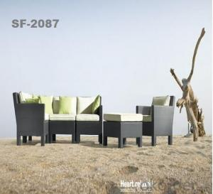 Outdoor Garden Furniture Rattan Sofa Furniture  SF2087