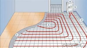 Dual Cores  Heating Cable for Floor Heating  System