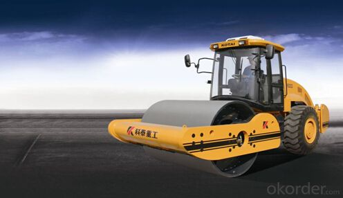 KS202D fully hydraulic single drum vibratory roller