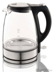 1.7 Litre Glass Electric Kettle with Transparent water window