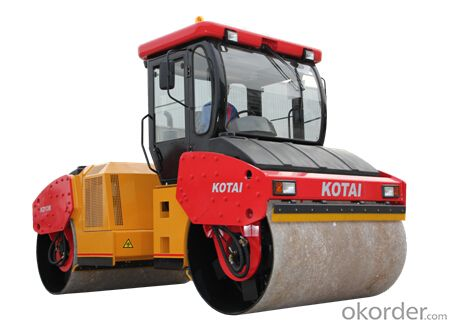 KD136/KD136F fully hydraulic double drum vibratory roller