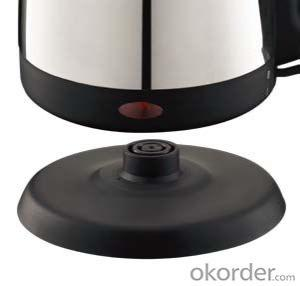 1.0 Litre Stainless Steel Electric Kettle
