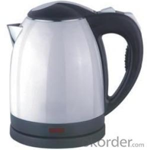 1.8 Litre White Housing food grade plastic  Electric Kettle