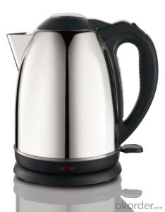 1.5 Litre Stainless Steel Electric Kettle with Concealed stainless steel heating element