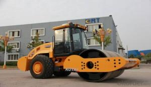 KS202DS fully hydraulic single drum vibratory roller