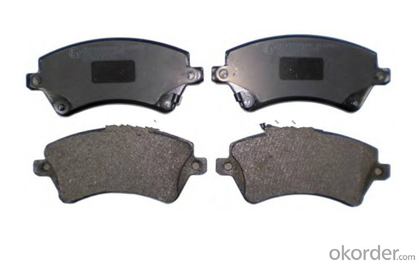 Auto Brake Pads for Toyota Land Cruiser 04465-60020 D502-7298