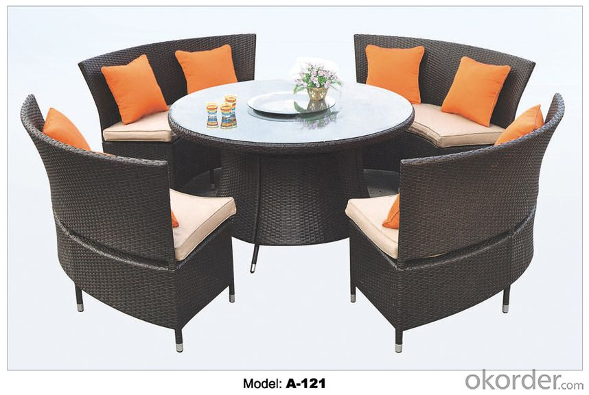 Popular Outdoor furniture Rattan Garden Furniture   A-121