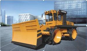 Landfill Compactors KC230/KC260/KC300 with high technique