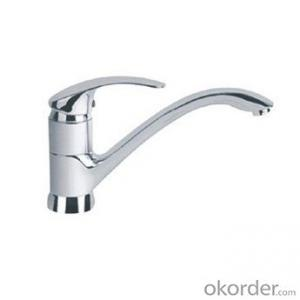 Fashionable basin faucet with single handle- 455