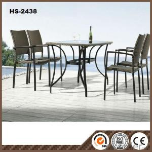 Rattan Furniture Garden Table Set 6 Seater HS-2438