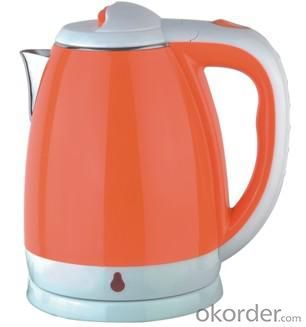 1.8 Litre Double Layers both food grade plastic and 201# S.S. Electric Kettle