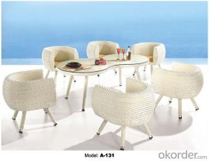 Hot sale Leisure garden Rattan Outdoor furniture   A-131