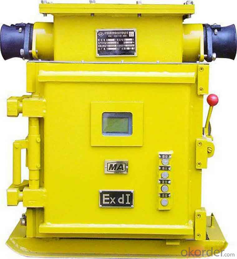 Zhongmei brand Mining Explosion-proof Vacuum Feeder Switch