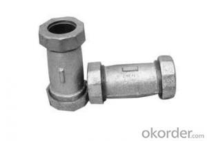 Malleable Iron Fittings Black and Galvanized  from China Supplier