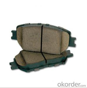 Full-Metal Car Brake Pad for Japanese Cars