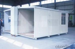 Collapsible 20ft Assembled Container House Fold Able Container Office