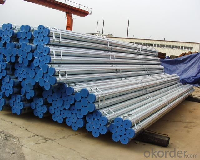 Hot Dip Galvanized Schedule 40 Seamless Carbon Steel Pipe