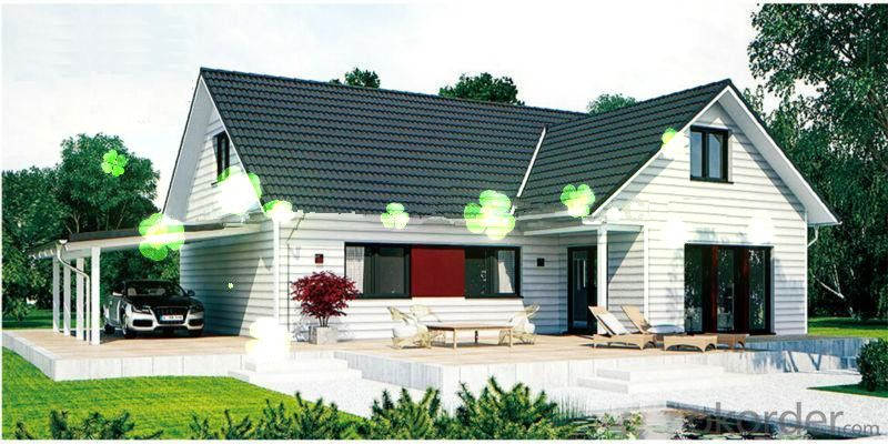 Light Steel Modular Prefab Villa for Sale with Modern Designs