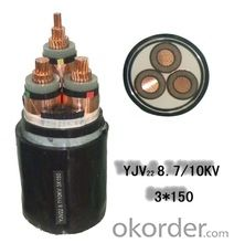 0.6/1kV CU/XLPE power cable 11kv power cable steel wire armoured power cable