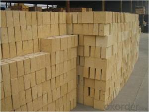 High alumina shaped refractory bricks