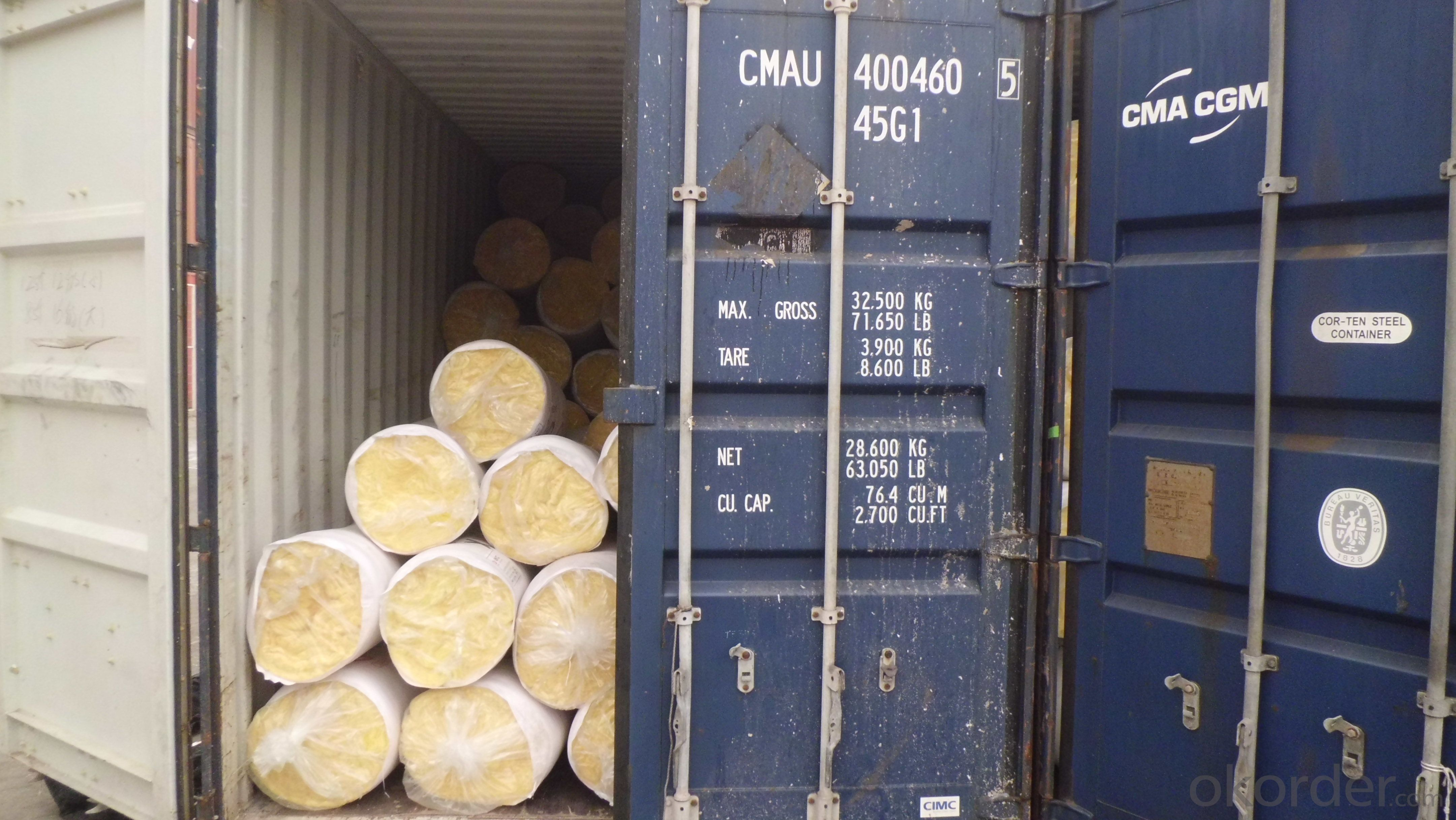 glass wool blanket glasswool pipes with CE certificate