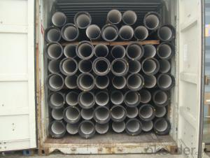 DUCTILE IRON PIPE AND PIPE FITTINGS C CLASS DN80