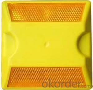 Plastic Road Stud AAA Material  ABS  Reflective Material PMMA