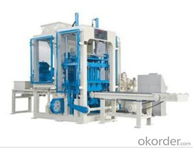 Fully Automatic Block Machine QFT 3-15 ,the best