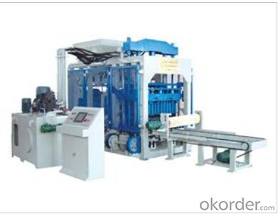 Fully Automatic Block MachineQT 8-15 ,high effiency
