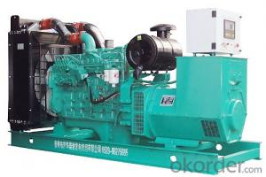 250KVA Cummins Diesel Generator set as Standby power